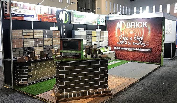 Case Study - MD Brick - image MD-Brick-Trade-Show on https://www.dmcadvertisinggroup.com.au