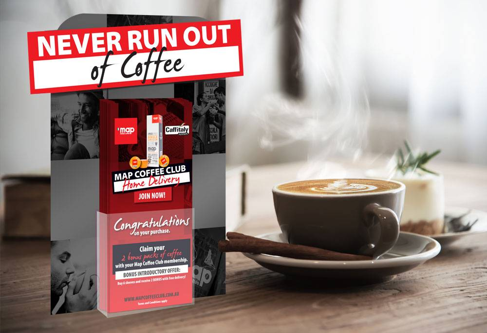Case Study - Map Coffee - image map-coffee-grid-stand on https://www.dmcadvertisinggroup.com.au