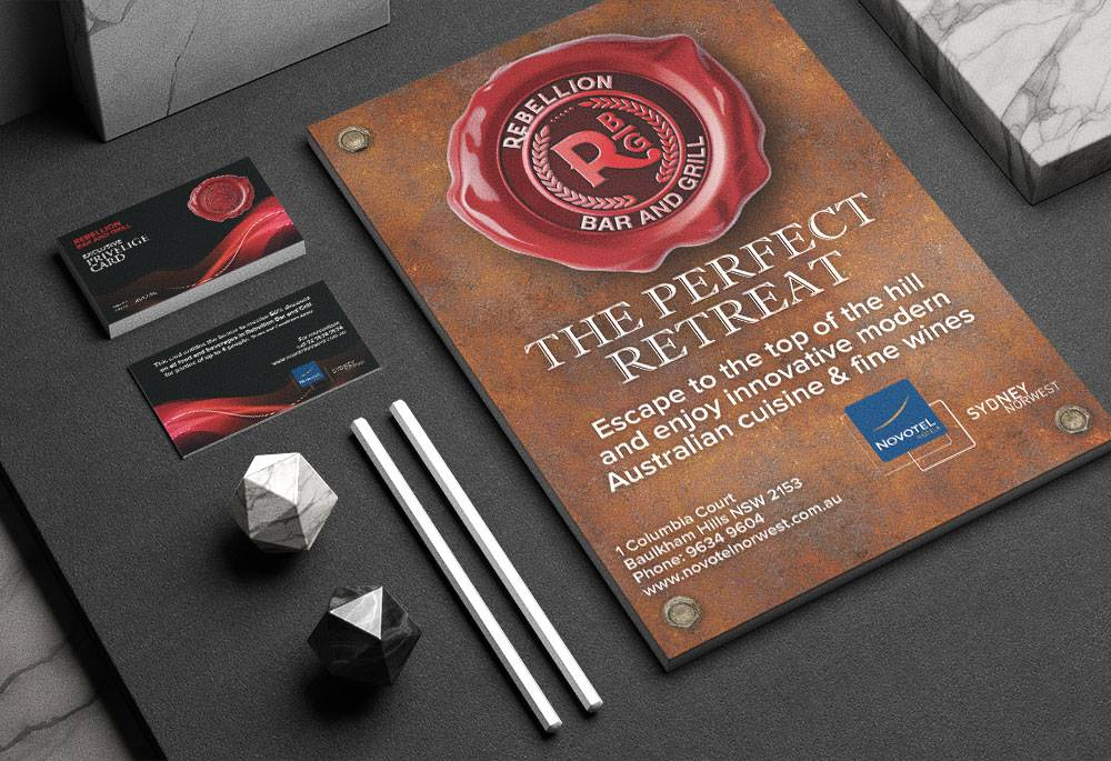 Case Study - Novotel - image rebellion-bar-stationery on https://www.dmcadvertisinggroup.com.au